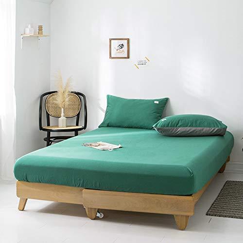 Xiaomizi La cama doble tiene sábanas mullidas y cómodas, que son muy profundas y súper cálidas de 48 x 74 cm (2 fundas de almohada)