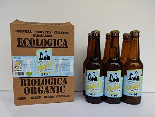 Cerveza artesana ecológica CELEBRIDADE GALEGA Sin Alcohol caja de 6 x 33cl.