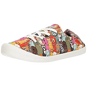 Skechers BOBS Women's Beach Bingo-Dog House Party Sneaker