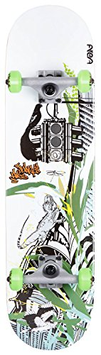 AREA Unisex Jugend Skateboard Street Jungle, Mehrfarbig, 31