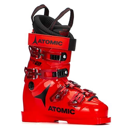 Atomic Unisex-Erwachsene STI 90 LC Ski-Stiefel, Red/Black, 37.5 EU