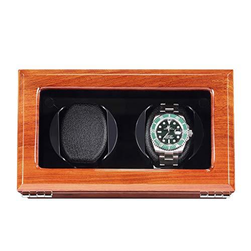YZSHOUSE Cajas Giratorias for Relojes Automatico, Grande Vitrina, Premium Madera Bobinadora for Relojes, 100% Hecho A Mano (Color : D)