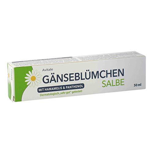 Avitale Gänseblümchen Salbe mit Hamamelis und Panthenol, 50 g