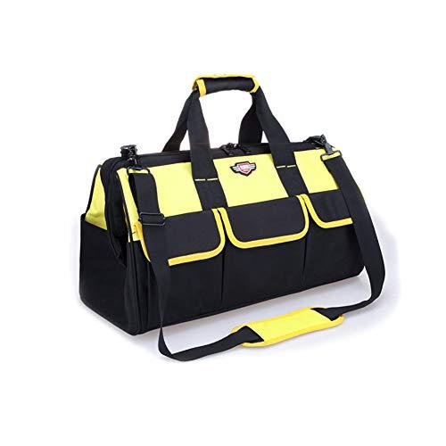 ZHONGSIDE Bolsa Herramientas Versión Amarilla Reforzada Lona Suela de Goma Gruesa Adecuada para electrodomésticos reparación de Aire Acondicionado Porter Regalos