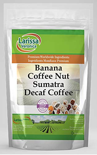 Banana Coffee Nut Sumatra Naturally Flavo Los Angeles Mall Courier shipping free Gourmet Decaf