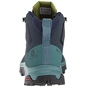 Salomon Women's OUTline Mid GTX W Hiking Boots, Navy Blazer/Hydro./Guacamole, 9