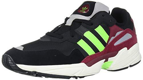 adidas Originals YUNG-96, Zapatillas para Correr Hombre, Negro Solar Verde Colegiate Borgoña, 40 EU