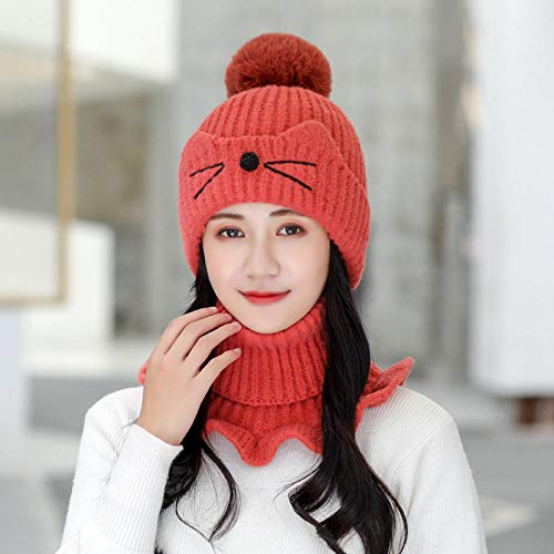 Sombrero de Lana Sonriente, Sombrero de Cristal de esquí,Gorro de Lana de...