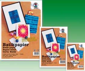 BATIKPAPIER A4 50 BLATT WEISS 4294600