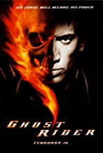 Ghost Rider Poster Movie 27x40 Nicolas Cage Eva Mendes Raquel Alessi