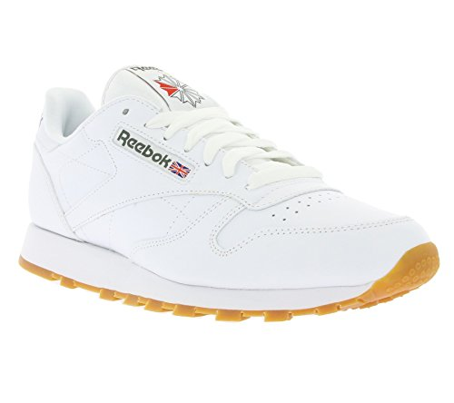 Reebok Classic Leather Low-Top voor heren, wit
