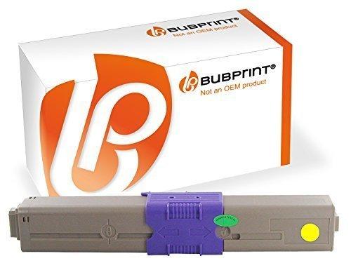 Bubprint Toner kompatibel für OKI 44469704 für C310DN C330DN C331DN C510DN C511DN C530DN C531DN MC351DN MC352DN MC361DN MC362DN MC561DN MC562DNW Gelb
