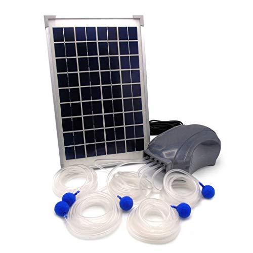 Ubbink Solar Teichbelüfter Gartenteich Sauerstoffpumpe Teichbelüftung Pumpe