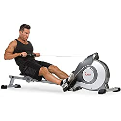 Sunny health and fitness rowing machine for home