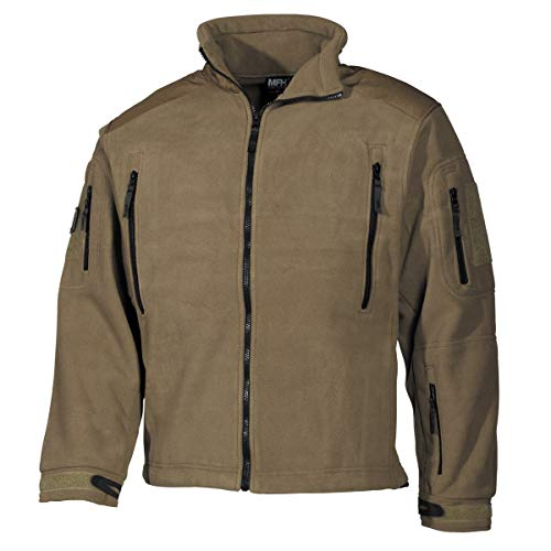 MFH - Veste Polaire « Heavy-Strike » - Coyote Tan, Medium