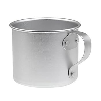 #N/A Tasse de Thé de Café de Camping Ultra-légère de 300 ML Tasse de Voyage de Randonnée en Aluminium