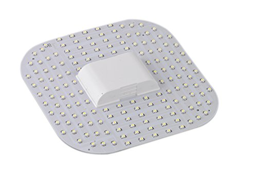 ZEYUN 12W 2D LED GR10Q Bombilla de 4 clavijas, lámpara DD blanco fresco 6500k, reemplazo de lámpara fluorescente compacta 2-D