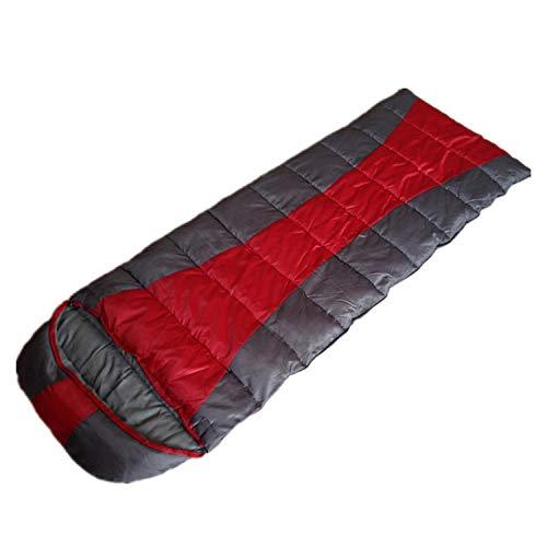 HuiHang Compact, ademend, geschikt voor reizen Slaapzak - mummie campingtas, binnenzak, winddichte reisaccessoires voor volwassenen - geschikt voor zomerreizen en rugzakken