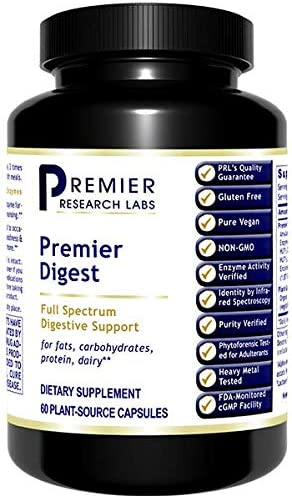 Premier Research Digest 60 Capsules Full Spectrum Digestive Support product image