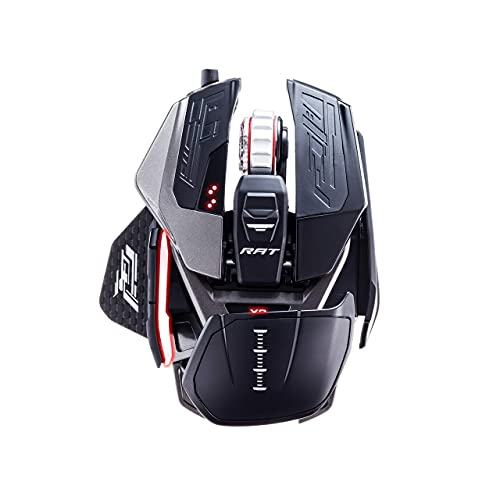 Mad Catz The Authentic R.A.T. PRO X3 Gaming Mouse - Black (Renewed)