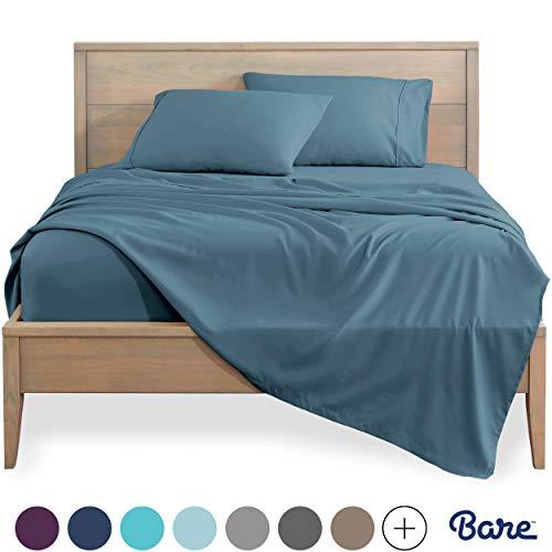 Bare Home Split King Sheet Set - 1800 Ultra-Soft...