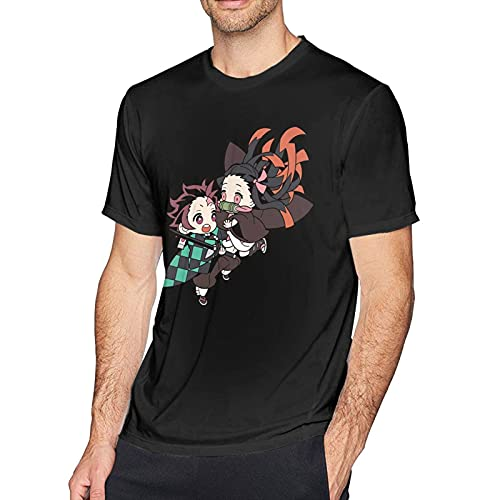 XCNGG Camisetas de Manga Corta de algodón para Hombres Adolescentes, Camisetas de Cuello Redondo para Entrenamiento y Fitness