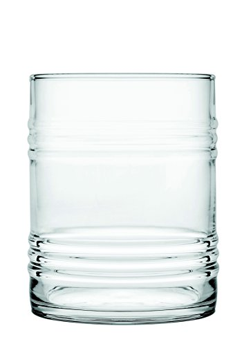 Pasabahce 420380 Profi Verre Tin Can, Lot de 6 Set Cocktail Fête en verre, Fun en verre, long drink, dimensions (H x Lg x P) : env. 9,8 cm, 36 cl, en verre trempé, lot de 6