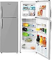Super General 360 Liters Gross Compact Top-Mount Refrigerator-Freezer, No-Frost, LED-light, Inox, SGR-360-l, 54.5 x 59.5...