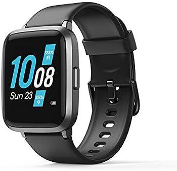 Koogeek Fitness Tracker Waterproof Smart Watch with Heart Rate Monitor