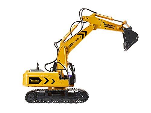 RC Baufahrzeug kaufen Baufahrzeug Bild 1: Ferngesteuerter Revell RC Kettenbagger inkl. Sortiergreifer mit 6 Kanälen im Maßstab 1:16, 2.4GHz*