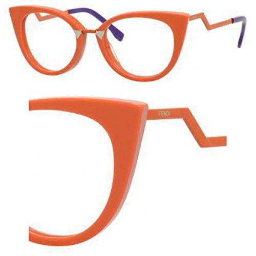 Fendi FF 0119 ID7/20 -50 -20 -140 Fendi Brillengestelle FF 0119 ID7/20 -50 -20 -140 Cateye Brillengestelle 50, Orange