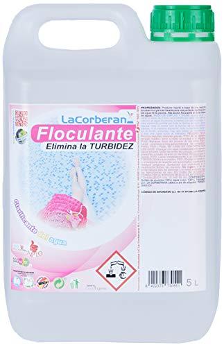 LA CORBERANA Clarificante Concentrado para Piscinas, Transparente, 5 l, 0173055