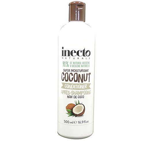 Inecto Naturals Marvellous Moisture Coconut Conditioner, 6er Pack (6 x 500 ml )