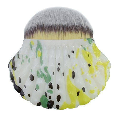 4 Pcs Aléatoire Couleur Maquillage Cosmétique Brosses Kabuki Visage Blush Brosse Poudre Fondation Outil,G