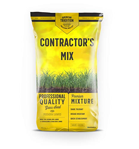 Barenbrug Contractor's Professional Grass Seed Mix, 50 lbs.