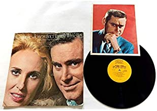 George Jones And Tammy Wynette Me And The First Lady - Epic Records 1972 - Used Vinyl LP Record - Includes Very Rare 8 1/2 X 10 1/2 Inch Color Photo Autographed By George Jones