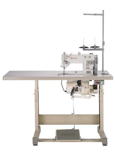 Singer 20U109 Complete Industrial Commercial-Grade Zigzag and Straight-Stitch Sewing Machine