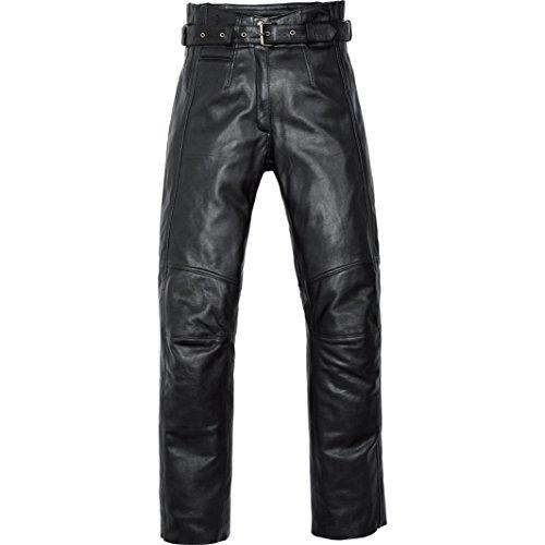 Spirit Motors Motorrad Jeans Motorradhose Motorradjeans Damen Soft Lederhose 2.0 schwarz L, Chopper/Cruiser, Ganzjährig