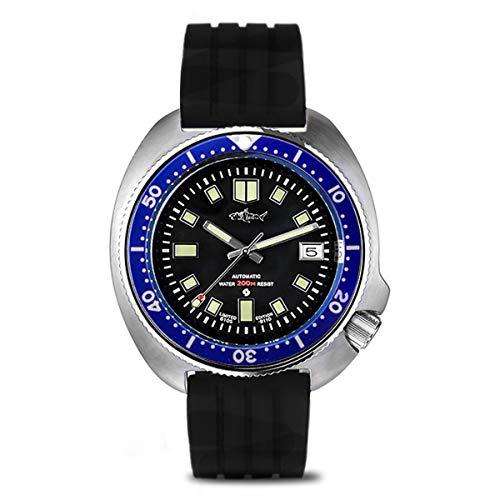 Sharkey Japón Tuna Diver 6105-8110 Bisel Azul