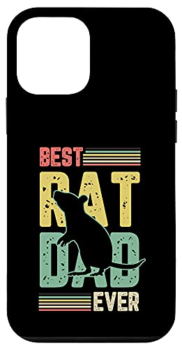 iPhone 12 mini Best rat dad ever Gifts for a Rats Fan Case