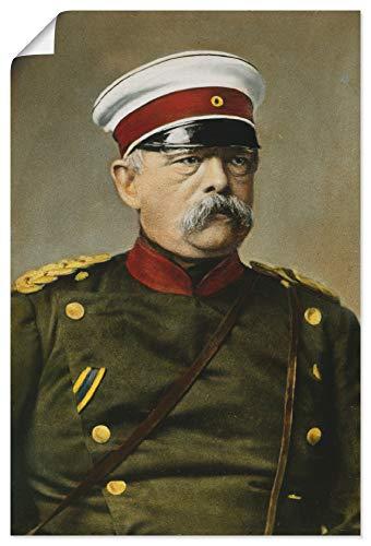 Artland Poster Kunstdruck Wandposter Bild ohne Rahmen 20x30 cm Otto von Bismarck Porträt Antik Kunst Malerei B9QP