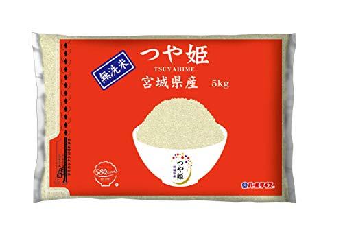【精米】[Amazon限定ブランド] 580.com 宮城県産 無洗米 つや姫 5kg