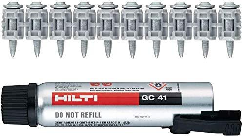 Hilti 3539468 X-P G3 MX   Gas nail X-P 17 G3 MX x900 + GC 41 Gas can for GX 3