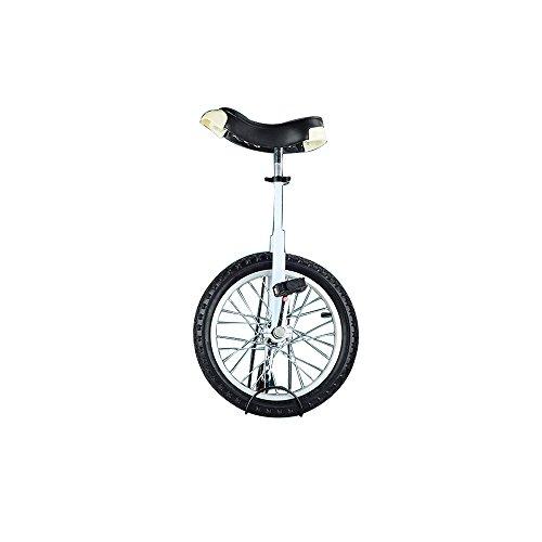 SENQI自転車 一輪車 子供用 スタンド付属 16インチホワイト