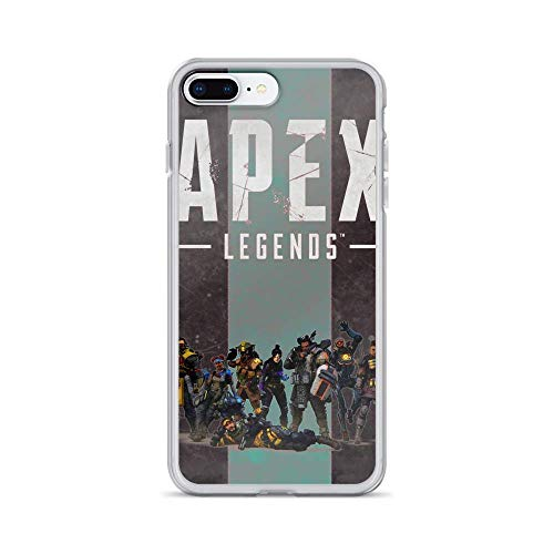 Roadiress Apex Legends Bangalore Game Player Compatible con iPhone 12/12Pro MAX 12 Mini 11 Pro MAX XR XS/XsMax SE 2020 7 8 6/6s Plus Samsung Series Funda Protectora