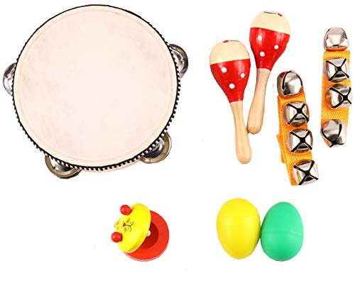 Zochoose Kids Musical Instrument Wooden Musical Toys for Toddlers Kids Preschool Educational Music Toys Set for Boys and Girls