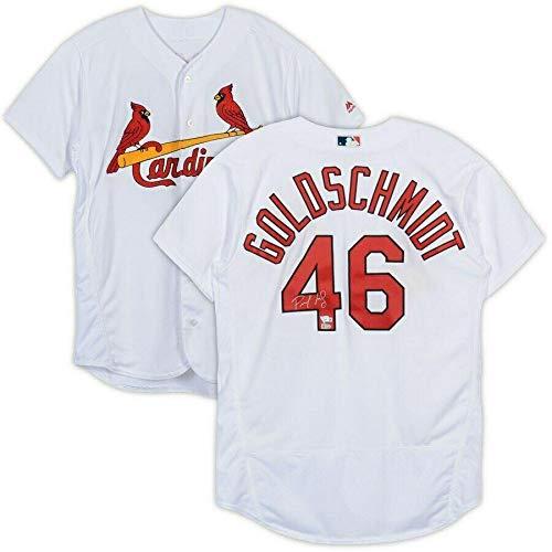 PAUL GOLDSCHMIDT Autographed St. Louis Cardinals Authentic Home Jersey FANATICS - Autographed MLB Jerseys