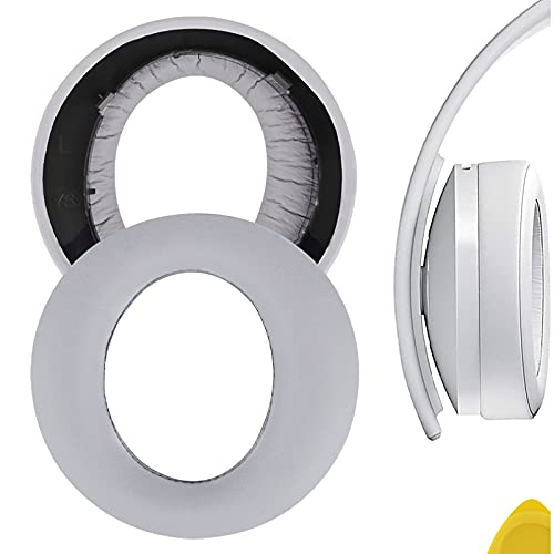 Geekria QuickFit Almohadillas de Piel de proteína para Auriculares S0NY Playstation Gold Wireless Nueva versión 2018, PS4 Gold Wireless 500 Millones de Auriculares de edición Limitada