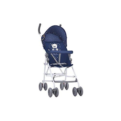 Lorelli Luz - Carrito de bebé, unisex, color azul