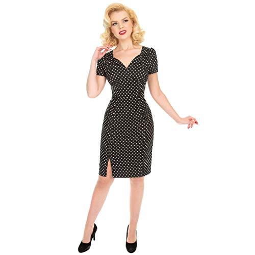 H & R London Wiggle jurk - Amelia Polka
